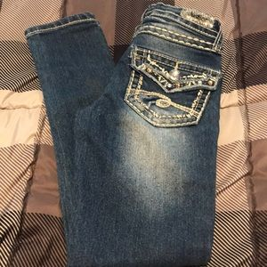 Like New Girls Justice Jeans